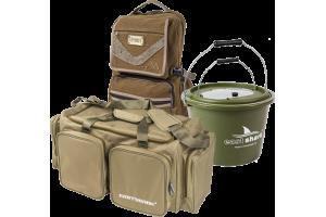 Рюкзаки, сумки, ведра