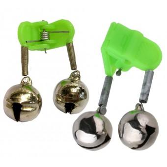 Бубенчик пластмассовый зелёный в коробке (уп. 50 шт)