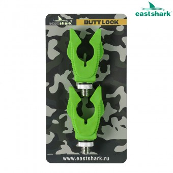 Держатель задний BUTT LOCK зеленый V (уп.2шт)