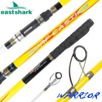 Морское удилище EastShark Warrior Surf 100/250gr 4.5m желтый