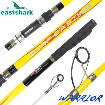 Морское удилище EastShark Warrior Surf 100/250gr 4.2m желтый