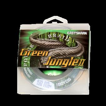 Плетёнка Green Jungle II 135м зелёная 0,22