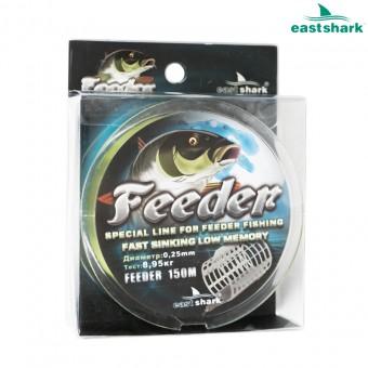 Леска Feeder 150 m зеленая 0,16 мм