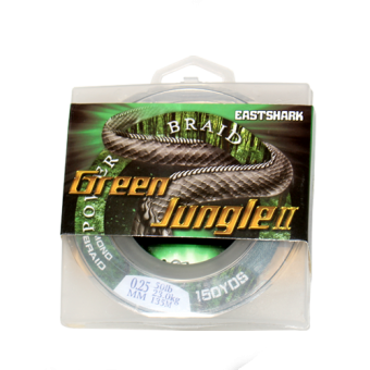 Плетёнка Green Jungle II 135м зелёная 0,25