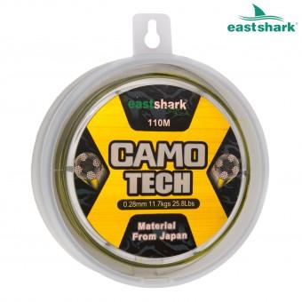 Леска GAMO TECH 0.16 110 м зелёно-чёрная