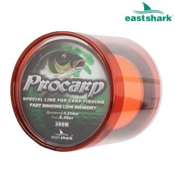 Леска PROCARP 300 м оранжевая 0,25