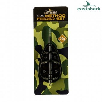 Кормушка EastShark Flat Method Feeder 70 гр.