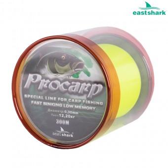 Леска PROCARP желтая 300 м 0,25