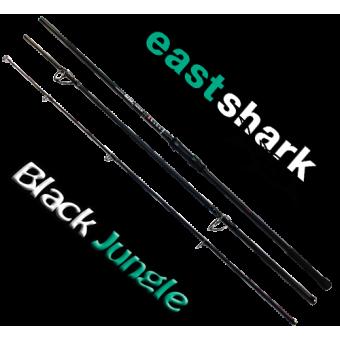 Удилище штекерное EastShark Black Jungle 4,5 lb 3,9 м 3-x частн