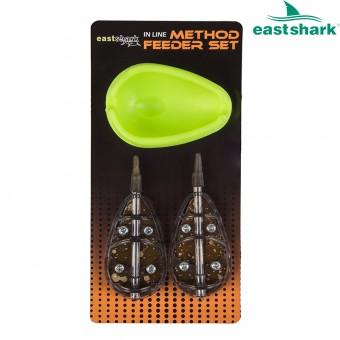 Набор флэт EastShark 100 гр. ( 2 кормушки + форма)