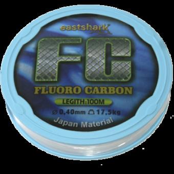 Леска FC 0.40 100 м fluorocarbon прозрачная (17,5 кг)