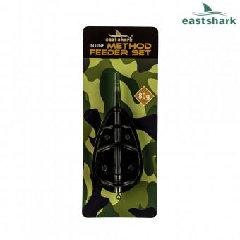 Кормушка EastShark Flat Method Feeder 80 гр.
