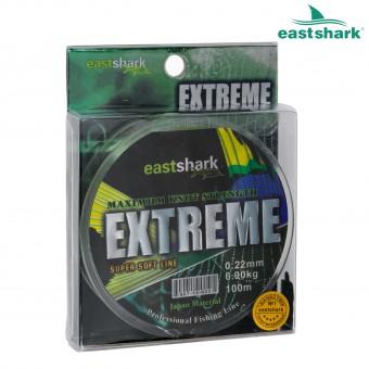 Леска EXTREME 0.16 100 м светло-зелёная (3,9 кг)